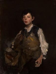 Frank Duveneck, Whistling Boy, circa 1872